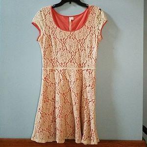 LC Lauren Conrad lace dress